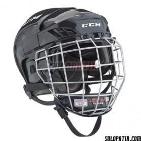 Rollhockey Helm Reebok 3K COMBO Schwarz
