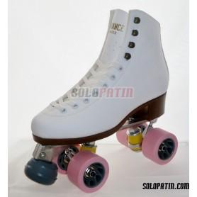 Figure Quad Skates ADVANCE Boots Aluminium Frames