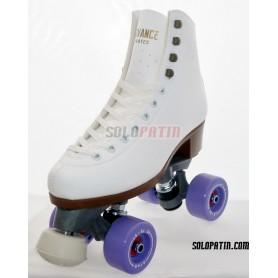 Figure Quad Skates ADVANCE Boots FIBER Frames BOIANI STAR Wheels