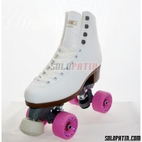 Figure Quad Skates ADVANCE Boots FIBER Frames ROLL*LINE BOXER Wheels