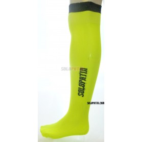 Yellow Fluor Hockey Socks Solopatin