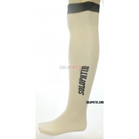 White Hockey Socks Solopatin
