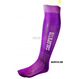 Purplish Hockey Socks Solopatin