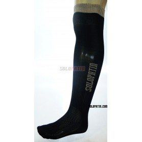 Black Hockey Socks Solopatin