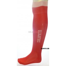 Rollhockey-Socken Solopatin Rot