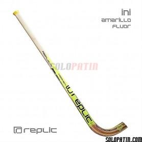 Schläger Rollhockey Replic Gelb Einleitug
