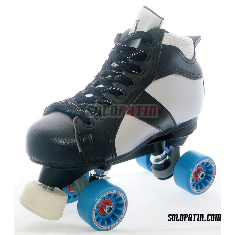 Conjunt Patins Hockey Solopatin ROCKET Fibra ruedas KOMPLEX IRIS