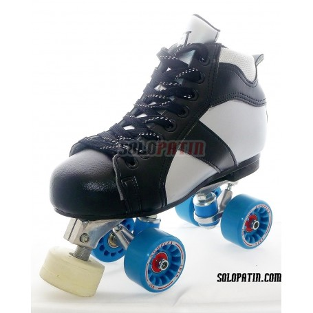 Conjunto Patines Hockey Solopatin ROCKET Aluminio ruedas KOMPLEX IRIS