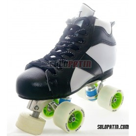 Conjunto Patines Hockey Solopatin ROCKET Aluminio ruedas HERO