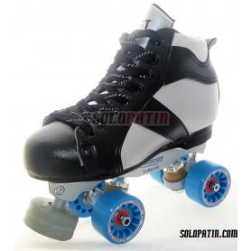 Conjunto Patines Hockey Solopatin ROCKET PLANCHAS ROLL*LINE VARIANT F ruedas KOMPLEX IRIS
