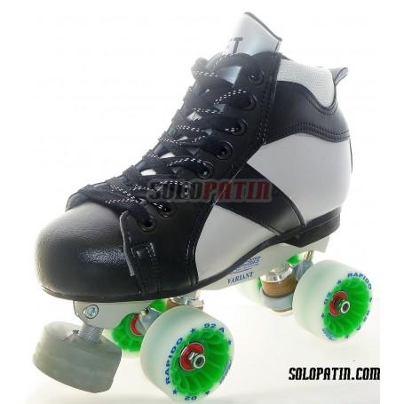 Conjunto Patines Hockey Solopatin ROCKET ROLL*LINE VARIANT F ruedas ROLL*LINE RAPIDO
