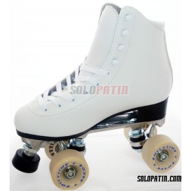 Figure Quad Skates INITIATION ALUMINIUM Frames ROLL-LINE BOXER Wheels