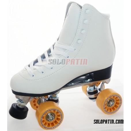 Figure Quad Skates INITIATION ALUMINIUM KOMPLEX AZZURRA Wheels