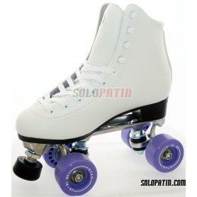 Figure Quad Skates INITIATION ALUMINIUM BOIANI STAR Wheels