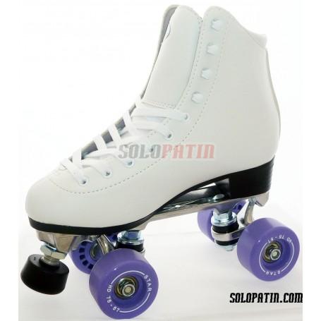 Figure Quad Skates INITIATION ALUMINIUM BOIANI STAR Wheels
