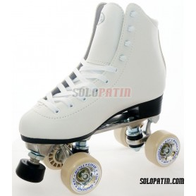 Figure Quad Skates INITIATION ALUMINIUM, ROLL-LINE GIOTTO Wheels