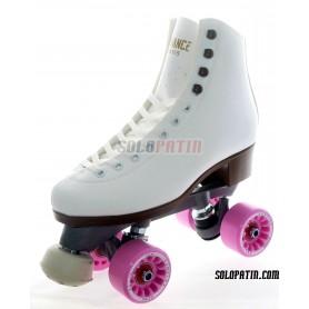 Figure Quad Skates ADVANCE Boots Aluminium Frames KOMPLEX FELIX Wheels