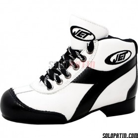 Botas Hockey JET EVOLUCTION BLANCO / NEGRO