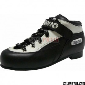 Roller Derby Reno Black - White Boots