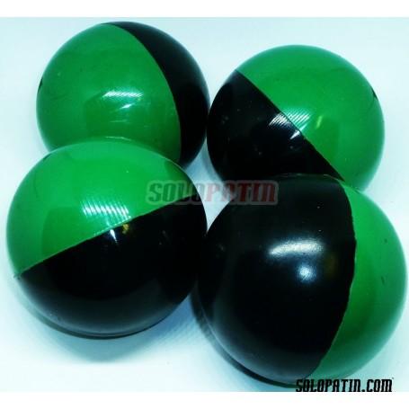Bolas Hockey Profesional Verde Negro SOLOPATIN