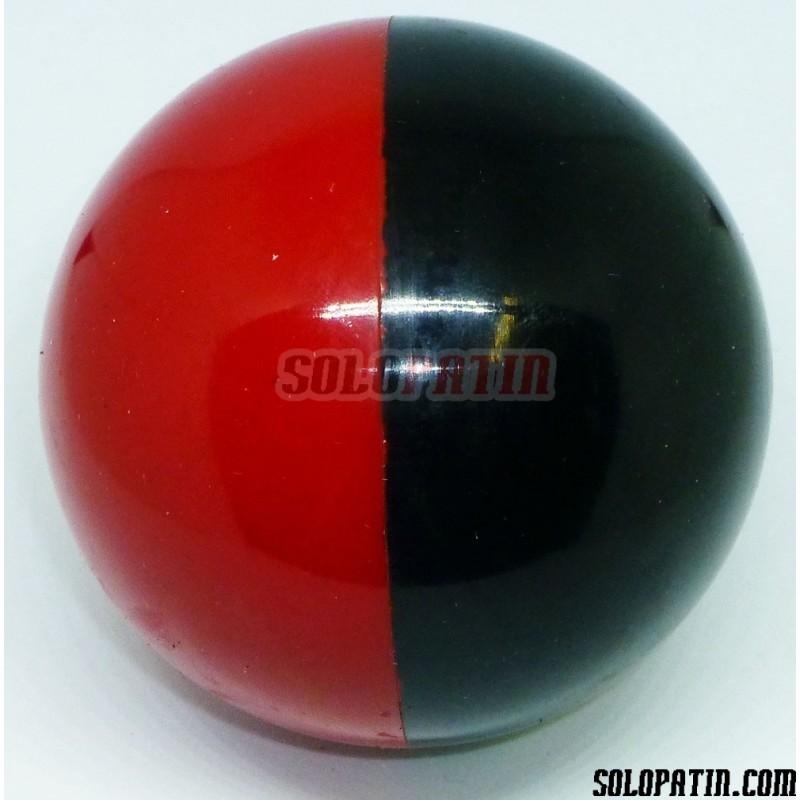 Bolas Hockey Profesional Rojo Negro SOLOPATIN