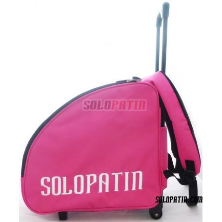 Trolley Motxilla Solopatin PERSONALITZABLE ROSA
