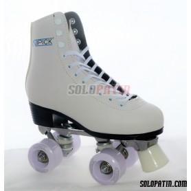 Figure Quad Skates ATIPICK White