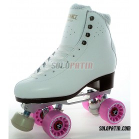 Figure Quad Skates ADVANCE ELITE Boots STAR B1 PLUS Frames KOMPLEX FELIX Wheels