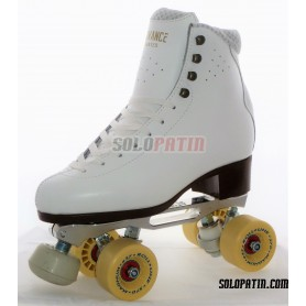 Figure Quad Skates ADVANCE ELITE Boots STAR B1 PLUS Frames ROLL-LINE MAGNUM Wheels