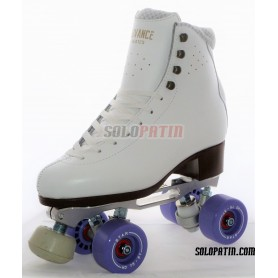 Figure Quad Skates STAR B1 PLUS Frames ADVANCE ELITE Boots BOIANI STAR Wheels