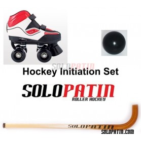 Initiation Set Quad Skates Stick Ball