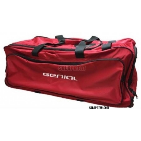 EVO Genial Trolley Bag Goalkeeper Red