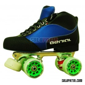 Conjunto Patines Hockey Genial Master  Nº 2 Azul