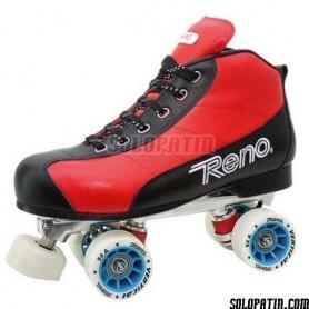 Pattini Hockey Reno Milenium Plus III Rosso Nero R1