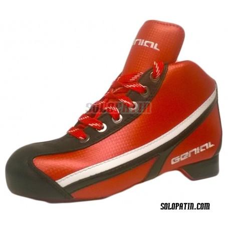 Botas Hockey Genial Supra Rojo