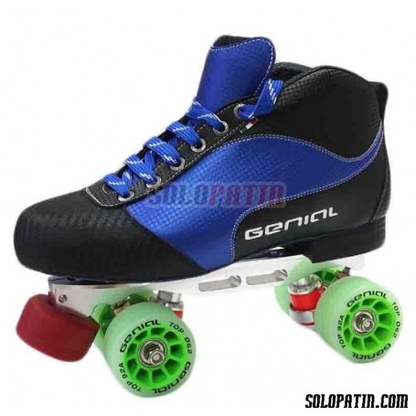 Conjunto Patines Hockey Genial Master  Nº 5 Azul