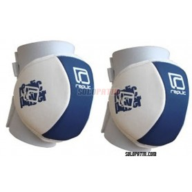 Rodilleras Hockey Replic Mini Azul / Blanco