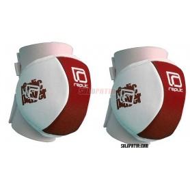 Hockey Knee Pads Replic Mini Red / White