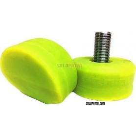 Stopper RollHockey Genial Gelb fluor