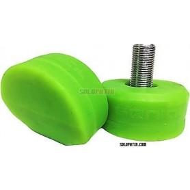 Frenos Hockey Genial Verde Fluor