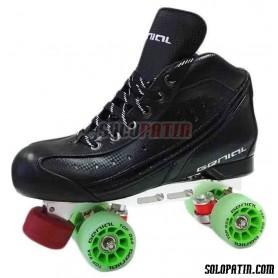 Pattini Hockey Genial TOP Nº 4 Verde