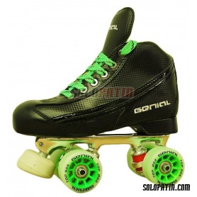 Conjunto Patines Hockey Genial Supra  Nº 3 Negro
