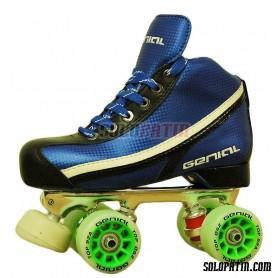 Conjunto Patines Hockey Genial Supra  Nº 3 Azul