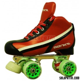 Pattini Hockey Genial Supra Nº 3 Rosso