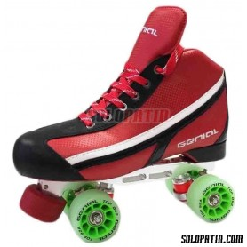 Pattini Hockey Genial Supra Nº 6 Rosso