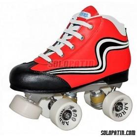 Conjunto Hockey Reno Initation Rojo
