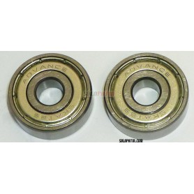 Skate Bearings Open Brass Cage