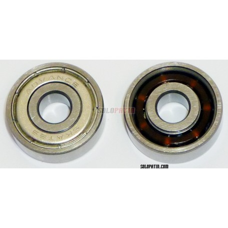 Roulements Patins Carbon Blindés