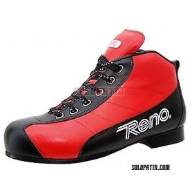Pattini Hockey Reno Milenium Plus III Rosso Nero R2 F1