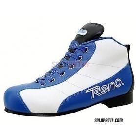 Pattini Hockey Reno Milenium Plus III Blu Bianco R1 Vertical